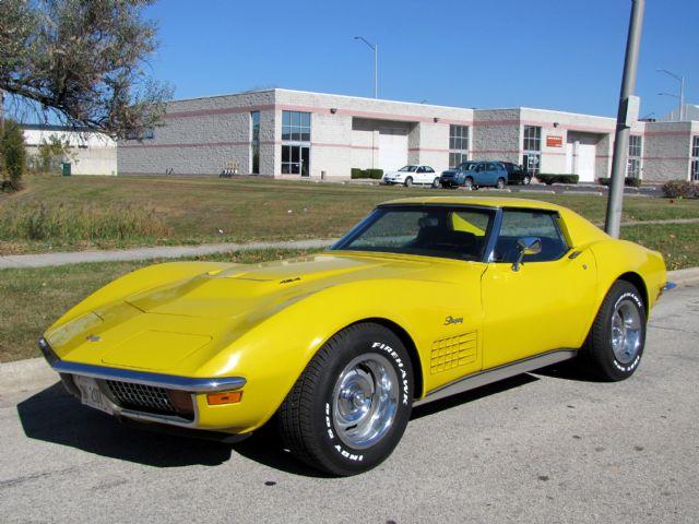 1972 corvette for sale alsip illinois corvette car ads. Cars Review. Best American Auto & Cars Review