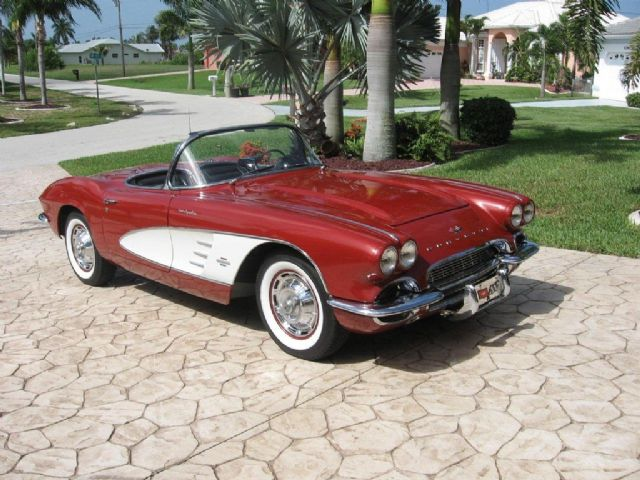 1961 corvette for sale miami florida corvette car ads. Black Bedroom Furniture Sets. Home Design Ideas