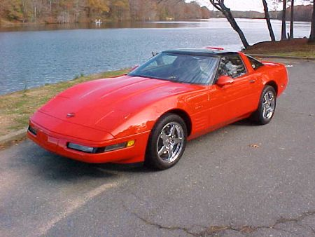 1994 corvette for sale little rock arkansas corvette car ads. Black Bedroom Furniture Sets. Home Design Ideas