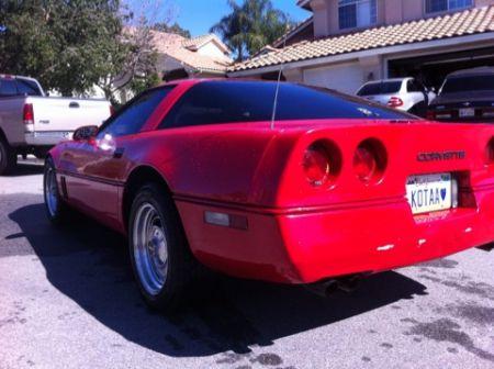 1985 corvette for sale highland california corvette car ads. Cars Review. Best American Auto & Cars Review